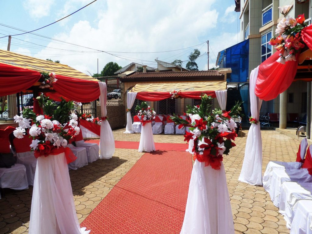 BluePearl Hotel Bamenda Banquet Hall for Meetings and Events